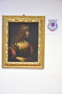 Portrait of Isabella d'Este  © Police of the Canton of Ticino, Switzerland