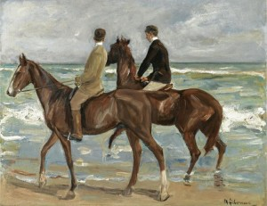 Max Libermann, Two Riders, sold at Sotheby's in June for £2 million