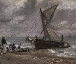 Beaching a Boat, Brighton 1824 John Constable 1776-1837 Presented by Mrs P.M. Rainsford 1986 http://www.tate.org.uk/art/work/T04135