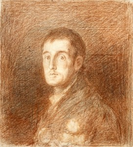 Goya Wellington sketch